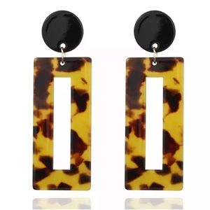 Gorgeous acrylic earrings